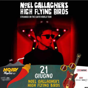 Recensione del concerto dei Noel Gallagher's High Flying Birds all'Arena Flegrea di Napoli