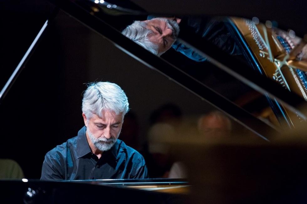 Andrea Padova al Maggio della Musica per il terzo periodo di Beethoven, il 21 giugno 2018 a Villa Pignatelli
