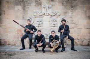 Il Quartetto Falstaff per i Concerti di Primavera 2018 targati Nuova Orchestra Scarlatti il 1° luglio 2018 presso la Chiesa dei SS. Marcellino e Festo