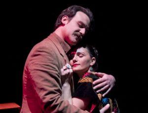 """""""Frida Kahlo"""", scritto e diretto da Mirko Di Martino, il 15 luglio 2018 alle Terme-Stufe di Nerone per la rassegna TEATROallaDERIVA"""