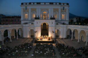 Concerto del Coro Polifonico di Napoli diretto da Luigi Grima, per il Festival delle Ville Vesuviane, il 19 luglio 2018 a Villa Campolieto, Ercolano