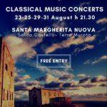 Mimas Music Festival, dal 21 al 31 agoisto 2018  presso Santa Margherita Nuova, Procida
