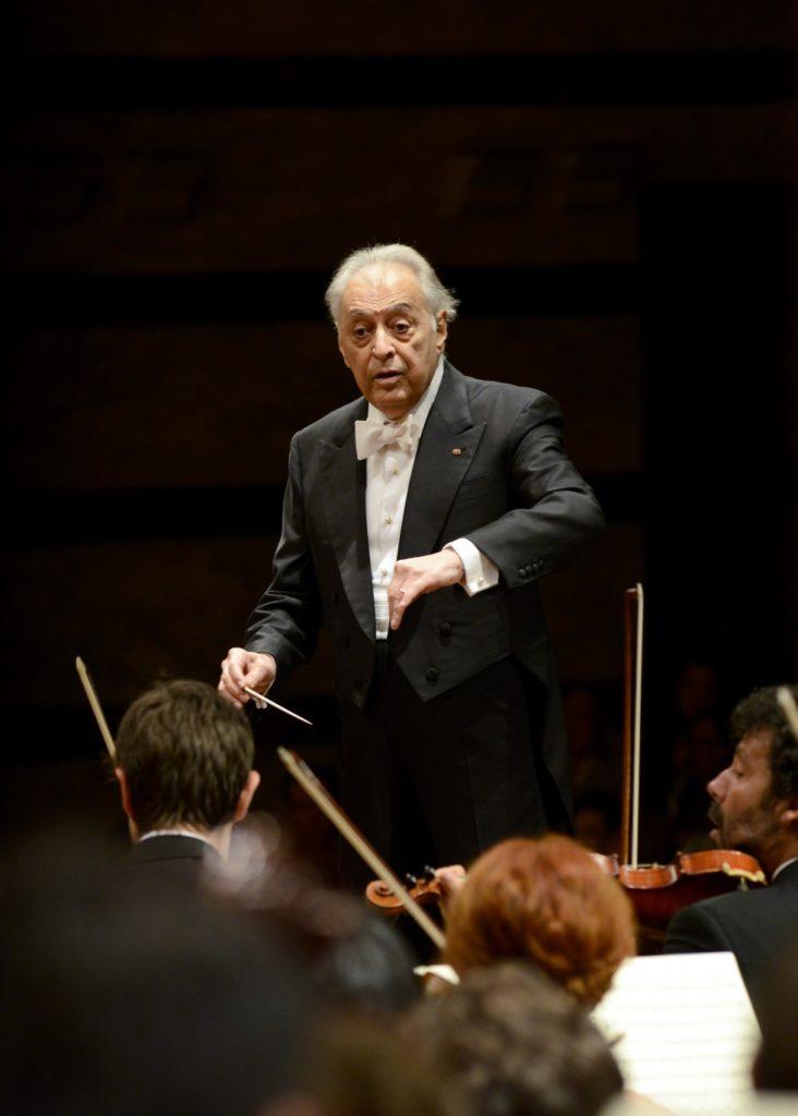 Zubin Mehta torna a Napoli per dirigere Stefano Bollani, il 29 ed il 30 settembre 2018 al Teatro San Carlo di Napoli