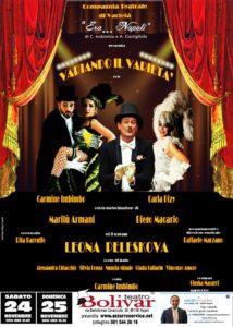 """""""Variando il Varietà"""", regia di Carmine Imbimbo, il 24 ed il 25 novembre 2018 al Teatro Bolivar di Napoli"""
