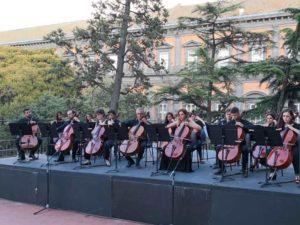 """Da Bach a Pino Daniele con i sedici violoncelli di """"ChamberCelli"""" in concerto per """"Passione musica"""", il 12 ottobre 2018 al Teatro Salvo D'Acquisto di Napoli"""
