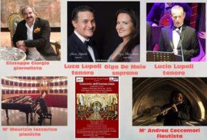 Concerto dell'Immacolata, l'8 dicembre 2018 presso Complesso Monumentale S. Anna dei Lombardi di Noi per Napoli
