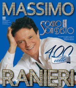 """Massimo Ranieri con lo spettacolo musicale """"Sogno e son desto 400 volte"""" dal 9 al 18 novembre 2018 al Teatro Augusteo di Napoli"""