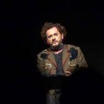 """Roberto Azzurro interprete e regista di """"Orfeo. Piombato giù"""", di Cristian Izzo, dal 29 novembre al 2 dicembre 2018 al Teatro Elicantropo di Napoli"""