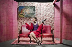 """La """"Cassandra"""" della brasiliana Paula Carrara nata a Piscinola, il 10 novembre 2018 al Teatro Area Nord di Napoli"""