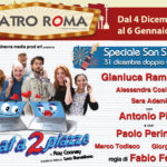 """""""Chat a due piazze"""", regia di Fabio Ferrari, dal 4 dicembre al 6 gennaio 2019 al Teatro Roma"""