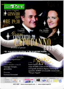 Concerto di Capodanno presso lo storico Teatro Delle Palme, il 1° gennaio 2019