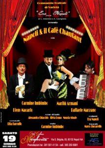 """""""Napoli & il Cafè Chantant"""", il 19 gennaio 2019 al Gran Salone Margherita di Napoli"""