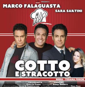 """Marco Falaguasta in """"Cotto e stracotto"""", dal 5 al 24 febbraio 2019 al Teatro Golden di Roma"""