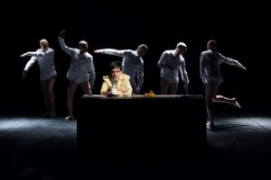 """I premi Ubu Roberto Castello e Andrea Cosentino in """"Trattato di Economia"""", il 2 ed il 3 marzo 2019 al Teatro Area Nord di Napoli"""