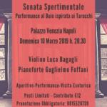 """""""Sonata Sperimentale"""", performance musicale al buio, il 10 marzo 2019 presso Palazzo Venezia Napoli"""