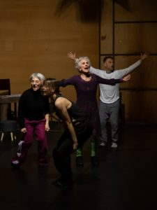 """""""Il luogo del paradosso"""", coreografia di Gabriella Stazio, per """"Stabile Danza 2019"""", dal 13 al 16 marzo 2019 al Ridotto del Mercadante di Napoli"""