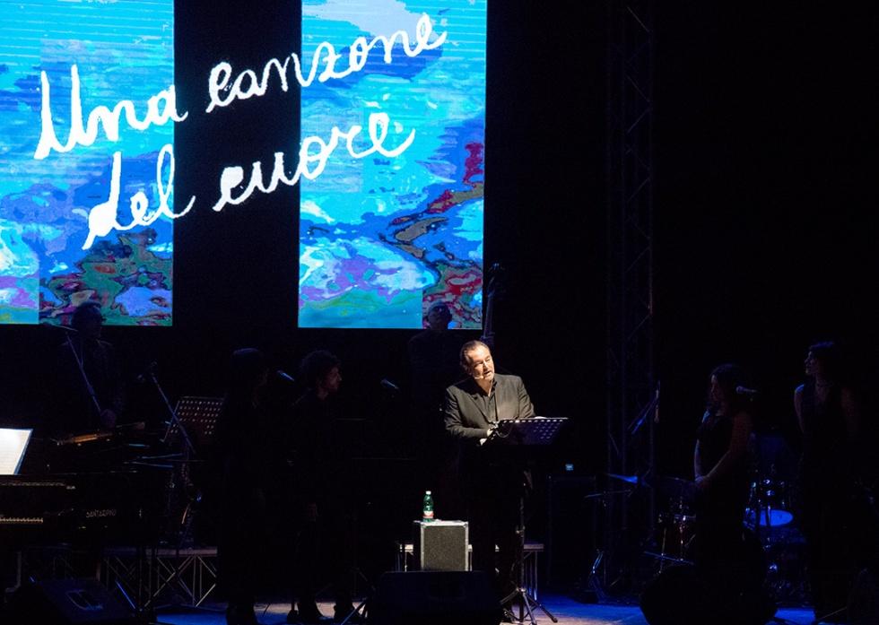 """Sebastiano Somma con """"Lucio incontra Lucio"""", il 25 marzo 2019 al Teatro Augusteo di Napoli"""