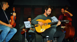 Satchmo Gipsy Quartet in concerto, il 16 marzo 2019 al Teatro Nuovo di Napoli
