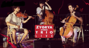 Zygrya String Trio in concerto, il 6 aprile 2019 al Teatro Nuovo di Napoli
