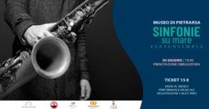 """""""Sinfonie sul Mare"""" prosegue il 30 giugno 2019, con il Saxophone Ensemble San Pietro a Majella, presso il Museo Nazionale Ferroviario di Pietrarsa"""