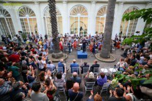 Orto Botanico in musica con l'Orchestra Scarlatti Junior e la Scarlatti per Tutti, il 6 Giugno 2019