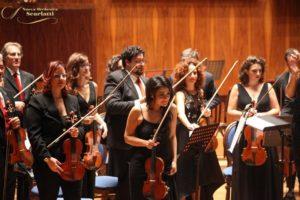 Terzo concerto del festival Unimusic, il 6 luglio 2019 a San Marcellino: Vivaldi, Haydn, Šostakovič, Sollima