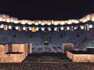 Ritorna la grande lirica al Teatro Romano di Benevento, il 4, l'11 agosto ed il 7 settembre 2019