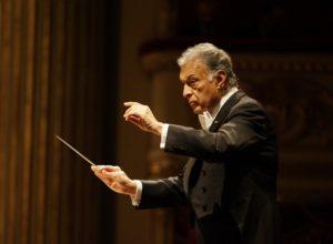 Zubin Mehta alla guida della Israel Philharmonic Orchestra, l'11 ed il 12 settembre 2019 al Teatro San Carlo di Napoli