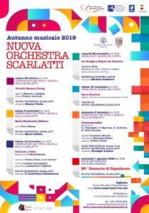 Parte l'Autunno musicale 2019 della Nuova Orchestra Scarlatti, il 26 ottobre 2019 presso la Sala Scarlatti del Conservatorio San Pietro a Majella di Napoli