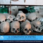 """""""Il convitato di pietra"""": visita teatralizzata al cimitero delle Fontanelle, il 27 ottobre 2019"""