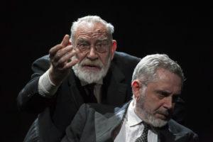 """Renato Carpentieri e Stefano Jotti ne """"Le braci""""dall'opera di Sándor Márai, dal 23 al 27 ottobre 2019 al Teatro Nuovo di Napoli"""