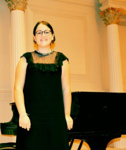 Al Maggio del Pianoforte l'enfant prodige Carmen Sottile, il 10 novembre 2019 presso Villa Pignatelli