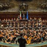 Concerto di Natale alla Camera dei Deputati della Nuova Orchestra Scarlatti Junior di Napoli, il 9 dicembre 2019