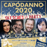 "Capodanno 2020 al Teatro Golden di Roma con ""Sketches & Party"" e la musica dal vivo di Gianni Davoli e la sua band"