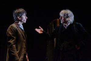 """Luigi Lo Cascio e Sergio Rubini in """"Dracula"""", da Bram Stoker, dal 17 al 26 gennaio 2020 al Teatro Bellini di Napoli"""