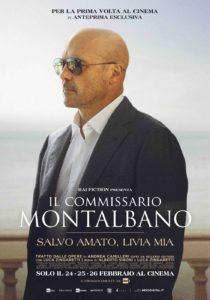 """""""Salvo amato, Livia mia"""": il commissario Montalbano al cinema solo il 24, 25, 26 febbraio 2020 e prossimamente su Rai1"""