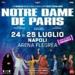 Notre Dame de Paris: il grande ritorno a Napoli, il 24 ed il 25 luglio 2020 all'Arena Flegrea