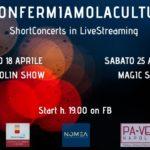 Ripartono gli ShortConcerts in live streaming organizzati da Noema srl e Palazzo Venezia Napoli