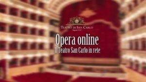 Il Teatro San Carlo di Napoli è online con la Web TV h24