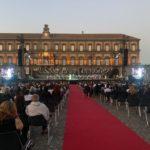 """La prova generale di """"Aida"""", con Anna Pirozzi e Jonas Kaufmann, a Piazza del Plebiscito"""