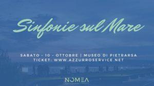 """""""Sinfonie sul Mare"""", il 10 ottobre 2020 al Museo Nazionale Ferroviario di Pietrarsa"""