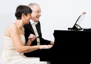 Michele Campanella e Monica Leone, recital a quattro mani per il Maggio della Musica, il 25 ottobre 2020 al Teatro Diana di Napoli