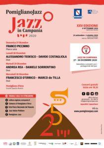 XXV Edizione di Pomigliano Jazz, dal 27 al 30 dicembre 2020 in diretta streaming