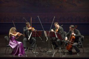 Il Quartetto d'Archi del Teatro di San Carlo esegue musiche di Beethoven e Šostakóvič, in streaming dal 26 marzo 2021