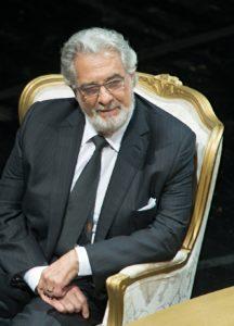 Placido Domingo al Conservatorio San Pietro a Majella di Napoli, il 3 ottobre 2021