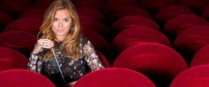 Beatrice Venezi dirige la Nuova Orchestra Scarlatti, il 2 ottobre 2021 presso il Cortile delle Statue dell'Università Federico II di Napoli