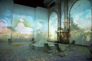 """""""Claude Monet: The Immersive Experience"""" prorogata a Napoli fino al 31 gennaio 2022"""