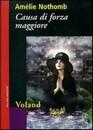 """Recensione del libro """"Causa di forza maggiore"""" di Amélie Nothomb (Voland)"""